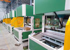 Paper Tray Forming Equipment , Hot Press / After Press Machine 50 Ton Pressure