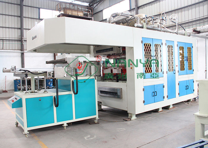 Efficiency Automatic Paper Tableware / Cutlery Virgin Pulp Molding Machinery