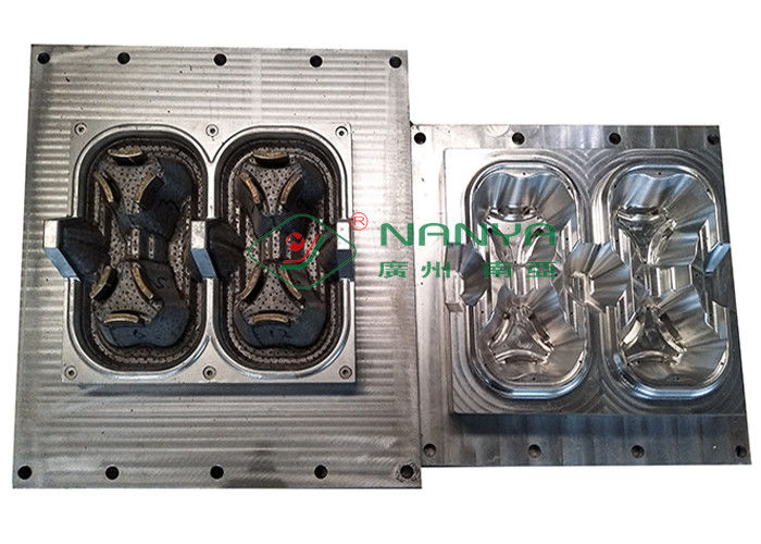 Die Casting 2 Packed Cup Carrier / Cup Holder Pulp Moulding Dies