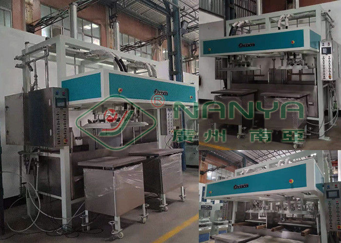 Industrial Paper Pulp Tray Machine , Egg Tray Manufacturing Machine 2000Pcs/H