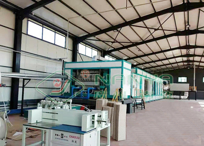 Auto Rotary Egg Tray Machine Waste Paper Pulp Moulding Equipment