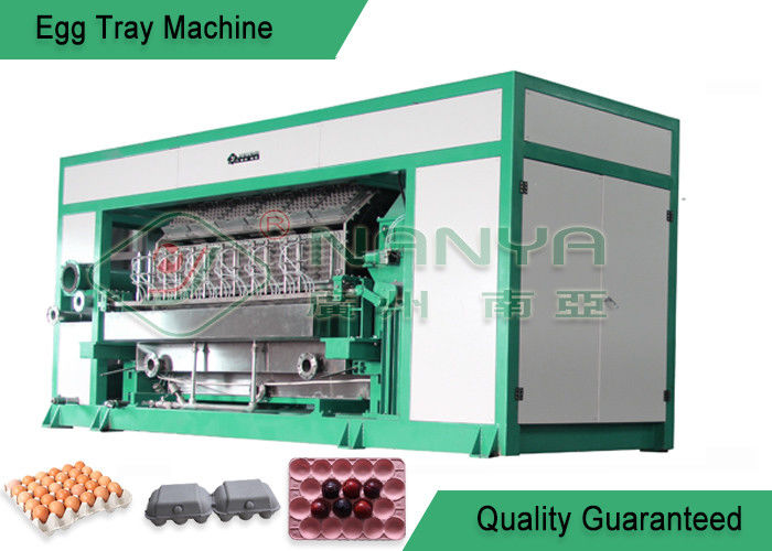 High Output Pulp Molding Machine / Recycled Paper Pulp Moulding Machinery
