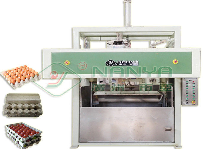High Speed Waste Paper Egg Carton / Egg Tray / Fruit Tray Making Machine