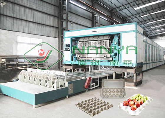 PLC 70mm 30 Holes Egg Box Pulp Molding Equipment